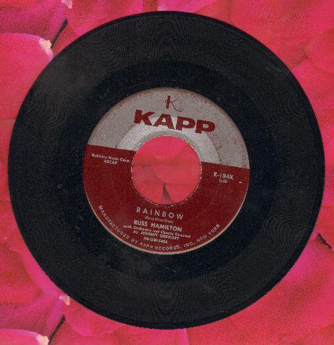 Hamilton, Russ - Rainbow/We Will Make Love  - EX8/ - 45 rpm Records