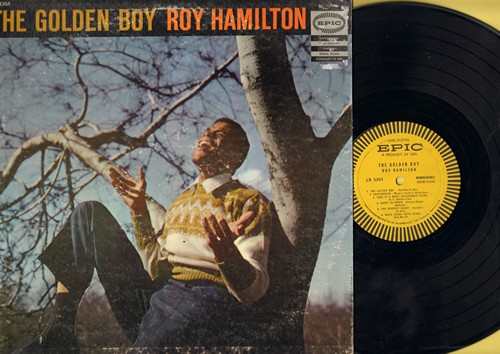 Hamilton, Roy - The Golden Boy: Love Is A Many-Splendored Thing, Somebody Somewhere, Oh What It Seemed To Be, Sweet Slumber (Vinyl MONO LP record, 1957 first issue) - NM9/VG6 - LP Records