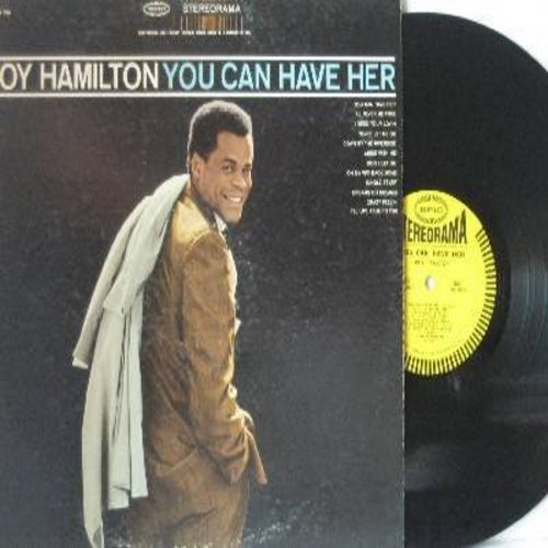 Hamilton, Roy - You Can Have Her: I'll Never Be Free, Never Let Me Go, Jungle Fever, Down By The Riverside (Vinyl STEREO LP record) - EX8/VG7 - LP Records