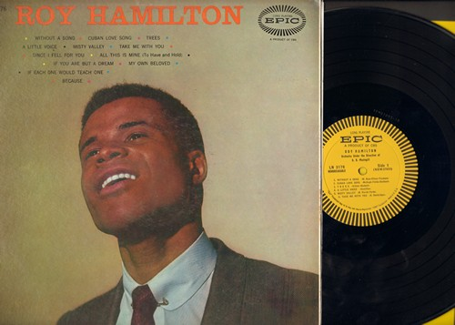 Hamilton, Roy - Roy Hamilton: Since I Fell For You, Because, Without A Song, Trees (Vinyl MONO LP record) - NM9/EX8 - LP Records