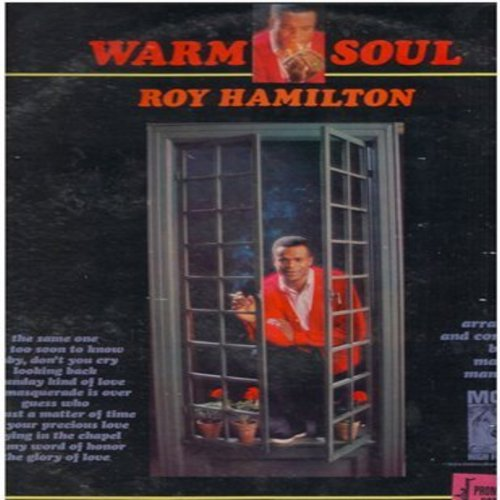 Hamilton, Roy - Warm Soul: The Same One, It's Too Soon To Know, A Sunday Kind Of Love, Guess Who, The Glory Of Love (vinyl MONO LP record, DJ advanced copy) - M10/VG7 - LP Records