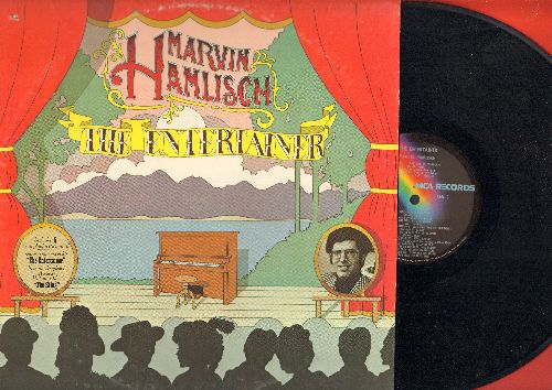 Hamlisch, Marvin - The Entertainer: Ragtime Nightingale, Rialto Ripples, I Love A Piano, Stoptime Rag (Vinyl LP record) - NM9/VG7 - LP Records