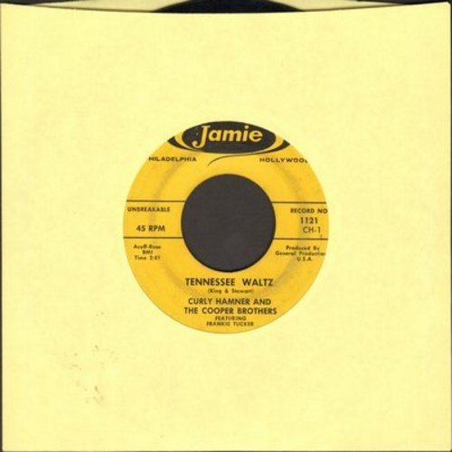 Hamner, Curly & The Cooper Brothers - Tennessee Waltz/Smoochin' - VG7/ - 45 rpm Records