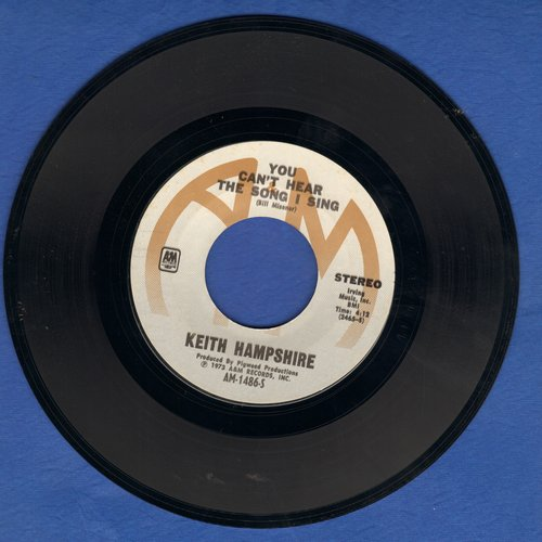Hampshire, Keith - Big Time Operator/You Can't Hear The Song I Sing  - NM9/ - 45 rpm Records