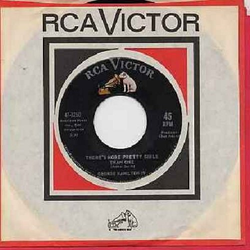 Hamilton, George IV - There's More Pretty Girls Than One/If You Don't Somebody Else Will (with RCA company sleeve) - M10/ - 45 rpm Records
