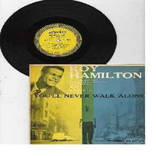 Hamilton, Roy - You'll Never Walk Alone: If I Loved You, Ebb Tide, I Believe, So Let There Be Love (10 inch vinyl MONO LP record with picture cover) - VG7/VG7 - LP Records