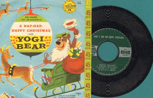 Milano, Frank - Have A Hap-Hap-Happy Christmas/Give A Goody For Christmas (with picture sleeve) - NM9/EX8 - 45 rpm Records
