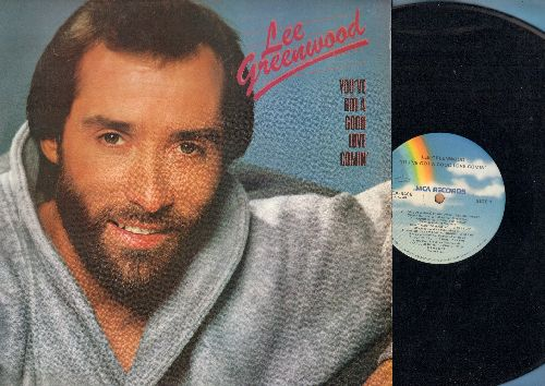 Greenwood, Lee - You've Got A Good Love Comin': God Bless The U.S.A., Fool's Gold, Two Hearted Serenade (vinyl LP record) - NM9/NM9 - LP Records