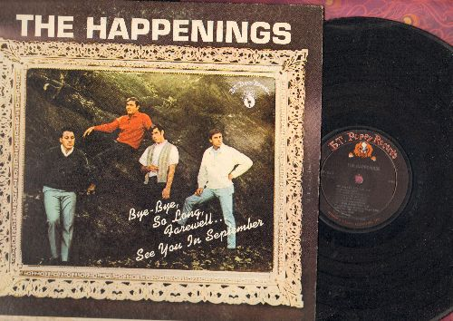 Happenings - The Happenings: See You In September, Tonight I Fell In Love, Go Away Little Girl, Sealed With A Kiss, If You Love Me Really Love Me (Vinyl MONO LP record) - VG6/VG6 - LP Records