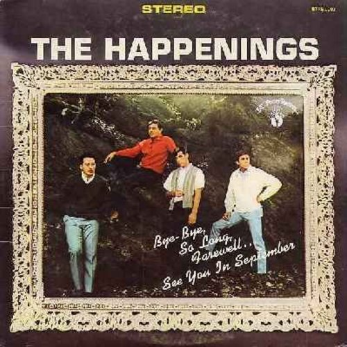 Happenings - The Happenings: See You In September, Tonight I Fell In Love, Go Away Little Girl, Sealed With A Kiss, If You Love Me Really Love Me (Vinyl STEREO LP record) - EX8/VG7 - LP Records