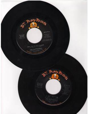 Happenings - 2 for 1 Special: See You In September/I Got Rhythm (2 original first issue 45rpm records for the price of 1!) - VG7/ - 45 rpm Records