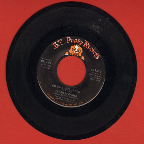 Happenings - Go Away Little Girl/Tea Time - EX8/ - 45 rpm Records