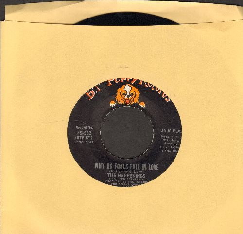 Happenings - Why Do Fools Fall In Love/When The Summer Is Through (bb) - NM9/ - 45 rpm Records