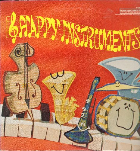 Happy Instruments - Happy Instruments: Xhylophone Song, Happy Clarinet, Jojo The Nenjo, Bennie The Beaver (vinyl LP record, SEALED, never opened!) - SEALED/SEALED - LP Records