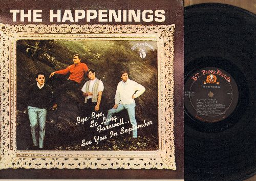 Happenings - The Happenings: See You In September, Tonight I Fell In Love, Go Away Little Girl, Sealed With A Kiss, If You Love Me Really Love Me (Vinyl MONO LP record) - NM9/EX8 - LP Records
