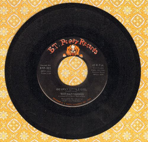 Happenings - Go Away Little Girl/Tea Time (MINT condition!) - M10/ - 45 rpm Records