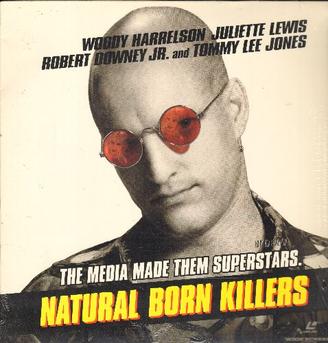 Natural Born Killers - Natural Born Killers - LASERDISC version of the Quentin Tarantino Cult Classic starring Woody Harrelson (2 LASERDISCS) - NM9/NM9 - LaserDiscs