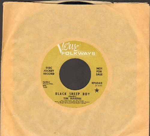 Hardin, Tim - Black Sheep Boy/Misty Roses (DJ advance pressing) - EX8/ - 45 rpm Records