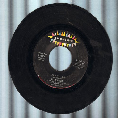 Harris, Betty - Cry To Me/I'll Be A Liar (wol) - EX8/ - 45 rpm Records