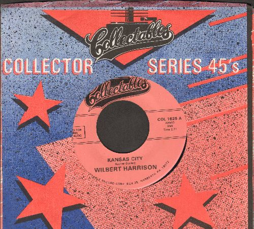 Harrison, Wilbert - Kansas City/Listen, My Darling (re-issue) - EX8/ - 45 rpm Records