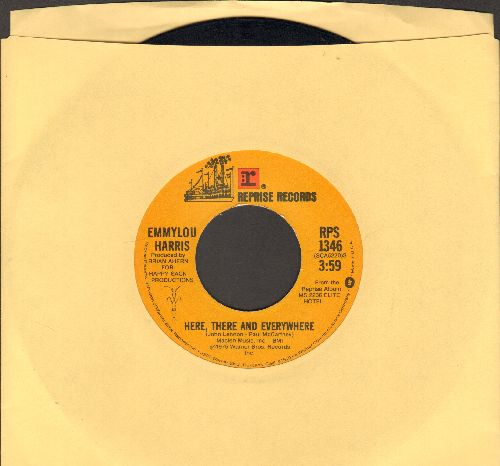 Harris, Emmylou - Here, There And Everywhere/Together Again  - EX8/ - 45 rpm Records