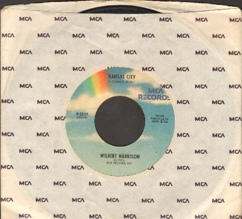 Harrison, Wilbert - Kansas City/Listen, My Darling (re-issue with MCA company sleeve) - VG7/ - 45 rpm Records
