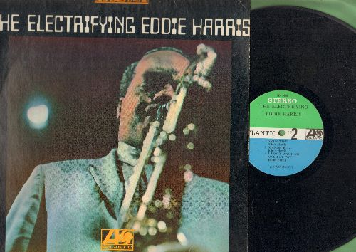 Harris, Eddie - The Electrifying Eddie Harris: Theme In Search Of A Movie, Sham Time, Judy's Theme, Spanish Bull (vinyl STEREO LP record) - VG6/EX8 - LP Records