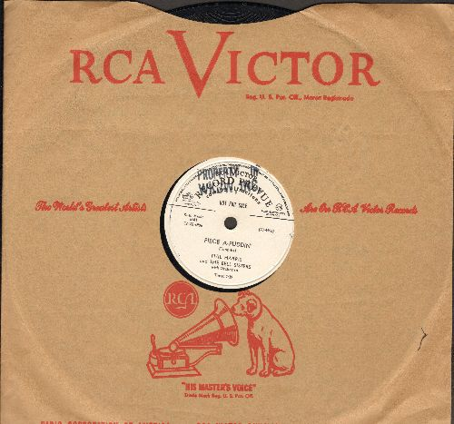 Harris, Phil - Piece A-Puddin'/Hi-Diddle-Diddle (10 inch 78 rpm record, DJ advance pressing with RCA company sleeve) - NM9/ - 78 rpm