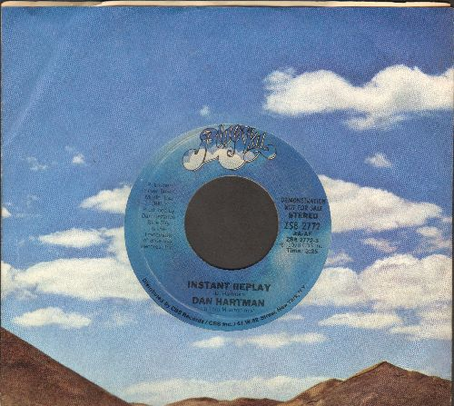Hartman, Dan - Instant Replay/Instant Replay (Replayed) (MINT condition with RARE company sleeve) - M10/ - 45 rpm Records