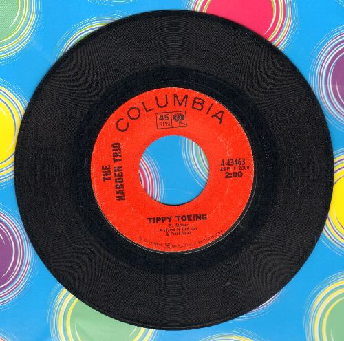 Harden Trio - Tippy Toeing/Don't Remind Me - EX8/ - 45 rpm Records