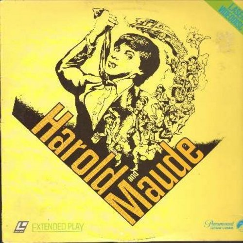 Harold And Maude - Harold And Maude - The 1971 Cult Classic starring Ruth Gordon and Bud Cort -  This is a LASERDISC, NOT ANY OTHER KIND OF MEDIA! - NM9/VG7 - LaserDiscs
