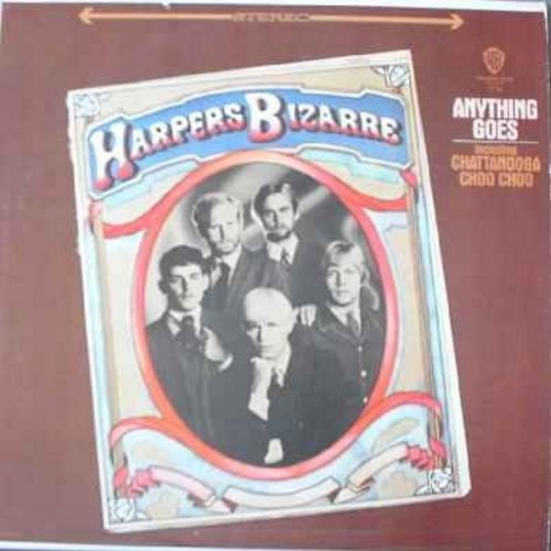 Harpers Bizarre - Anything Goes: Chatanooga Choo Choo, This Is Only The Beginning, Pocketful Of Miracles, Milord, Snow (Vinyl LP record) - NM9/VG7 - LP Records