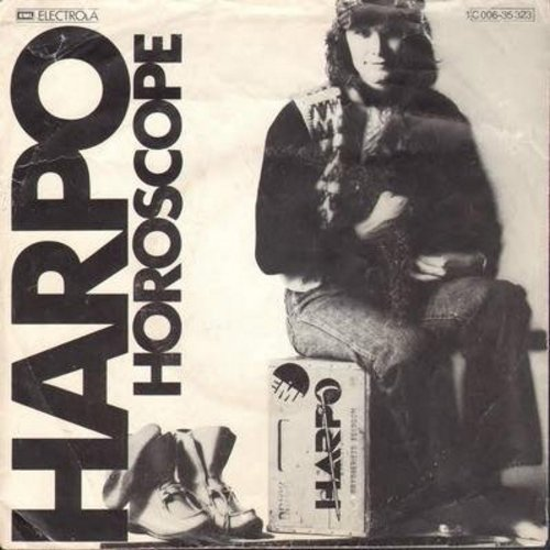 Harpo - Horoscope/Jessica (German Pressing with picture sleeve)(sol) - NM9/VG7 - 45 rpm Records