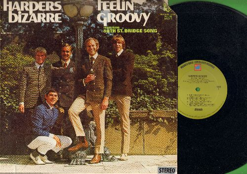 Harpers Bizarre - Feelin' Groovy: Happy Talk, Come To The Sunshine, 59th Street Bridge Song (Feelin' Groovy), The Debutante's Ball (Vinyl STEREO LP record) - NM9/VG7 - LP Records