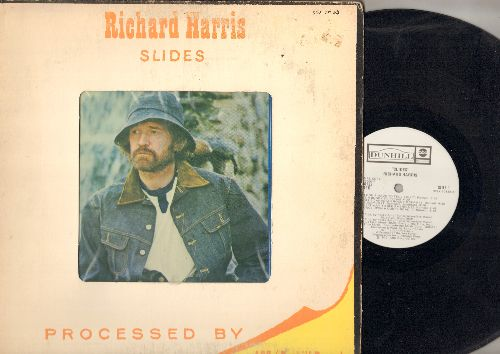 Harris, Richard - Slides: I Don't Have To Tell You, Once Upon A Dusty Road, There Are Too Many Survivors On My Cross (vinyl STEREO LP record, DJ advance pressing) - NM9/VG6 - LP Records