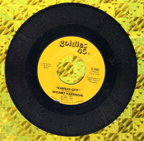 Harrison, Wilbert - Kansas City/Listen, My Darling (1970s re-issue) - NM9/ - 45 rpm Records