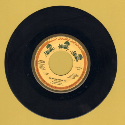 Harrison, George - Got My Mind Set On You/Lay His Head  - NM9/ - 45 rpm Records