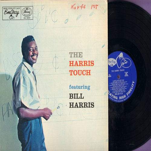 Harris, Bill - The Harris Touch: Baker's Dozen, Honeysuckle Rose, Midnight Blue, Yesterdays, 'S Wonderful, The Man I Love (Vinyl MONO LP record) - NM9/EX8 - LP Records