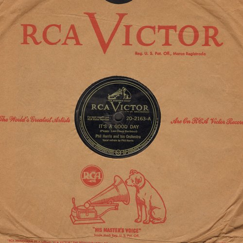 Harris, Phil - It's A Good Day/The Possum Song (10 inch 78rpm record with RCA company sleeve) - VG7/ - 78 rpm