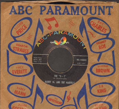 M., Harry & The Marvels - The U-T/What's The Use (with vintage ABC-Paramount company sleeve) - NM9/ - 45 rpm Records