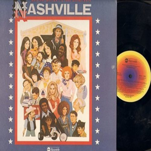 Nashville - Nashville - Original Motion Picture Soundtrack (Vinyl STEREO LP record) - M10/NM9 - LP Records