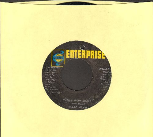 Hayes, Isaac - Theme From Shaft (Oscar Winner - Best Song 1971)/Café Regios (bb) - NM9/ - 45 rpm Records