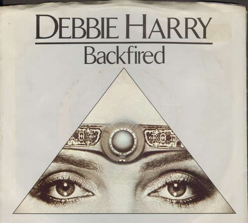 Harry, Debbie - Backfired/Military Rap (with picture sleeve) - NM9/NM9 - 45 rpm Records