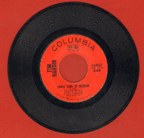 Hardin, Tim - Simple Song Of Freedom/Question Of Birth - VG7/ - 45 rpm Records
