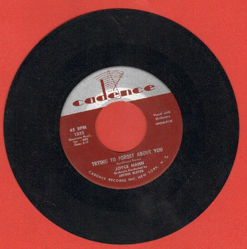 Hahn, Joyce - Did You Close Your Eyes?/Trying To Forget About You - NM9/ - 45 rpm Records