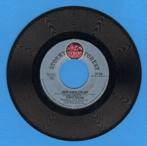 Havens, Richie - Here Comes The Sun/Younger Men Get Older (wol) - EX8/ - 45 rpm Records
