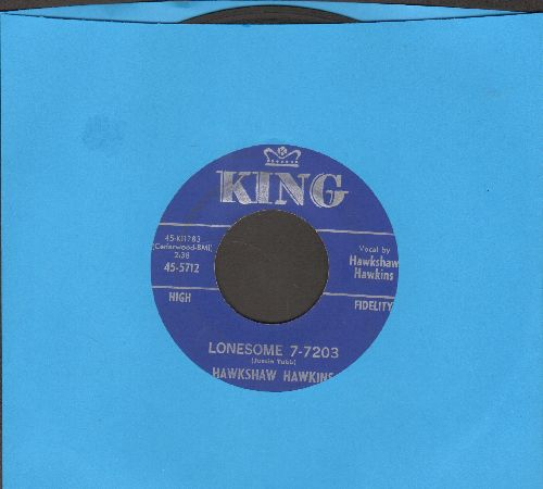 Hawkins, Hawkshaw - Lonesome 7-7203/Everything Has Changed - VG7/ - 45 rpm Records