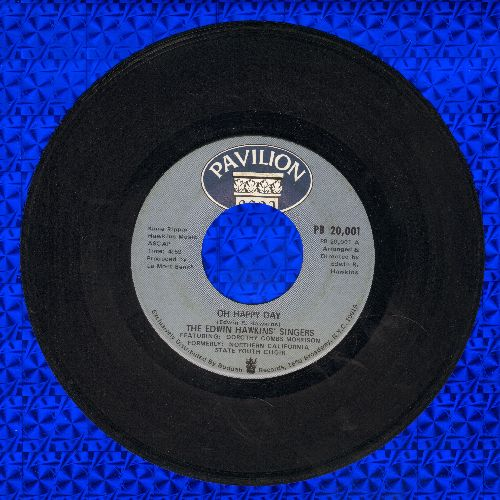 Hawkins, Edwin Singers - Oh Happy Day/Jesus Lover Of Soul (bb) - VG7/ - 45 rpm Records