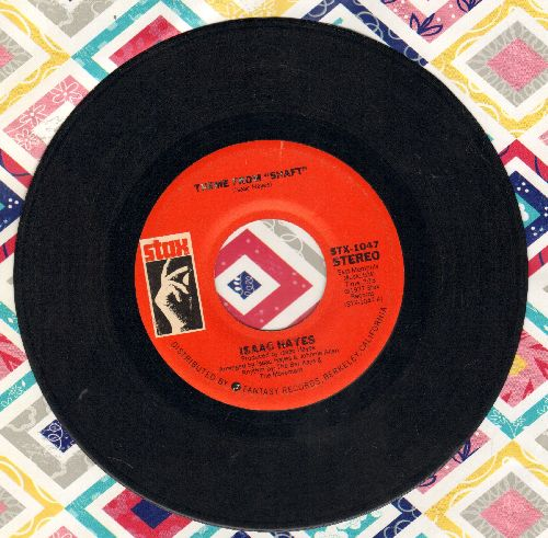 Hayes, Isaac - Theme From -Shaft-/Theme From The -Men- (Instrumental)  - EX8/ - 45 rpm Records