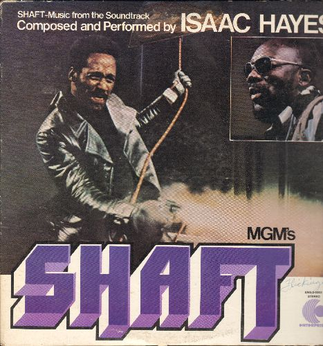 Hayes, Isaac - Shaft - Original Motion Picture Sound Track featuring Academy Award Winning Theme composed and performed by Isaac Hayes (2 vinyl LP records, gate-fold cover) - EX8/EX8 - LP Records